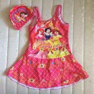 """ Princess "" Kids Swimwear"