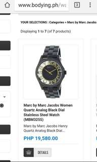 REPRICED Marc by Marc Jacobs Watch