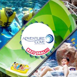 Adventure Cove Ticket one day pass