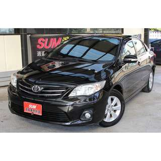 2011 Toyota Altis 黑 1.8