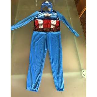 🚚 cosplay男童美國隊長表演道具服裝