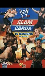 WWE Slam Cards Collector's Items