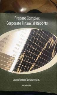 Prepare complex corporate financial reports