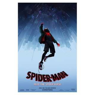 spiderman into the spider verse posters