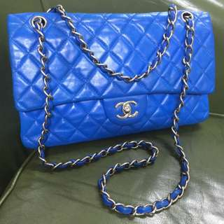 Authentic Chanel France Real Leather