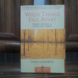 Buku WHEN  THINGS FALL APART Karya: Pema Chordon