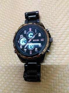 🚚 雙顯示影幕、電子錶