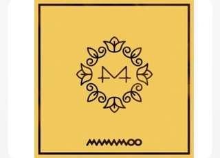 Yellow Flower by Mamamoo (Readystock) (Rm 60)