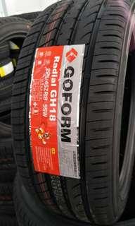 Goform tyre