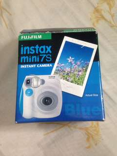 Polaroid mini 7s blue