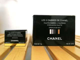 Chanel Eyeshadow (2 sold as set)