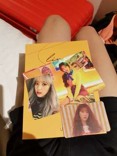 WTT UNI.T line POSTCARD & PHOTOCARDS