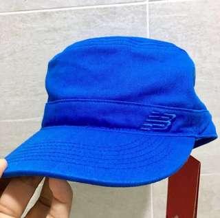 🚚 New balance 藍色帆布軍帽 30