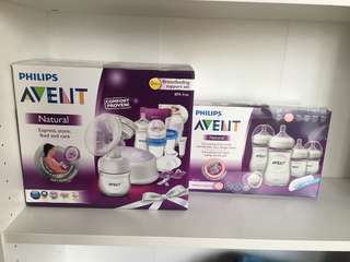 Philips Avent Breastfeeding Support Set / Newborn Set