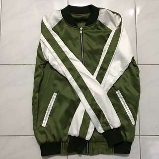 Bomber Jacket Satin