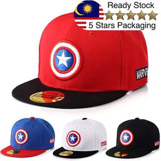Kids Captain America Snapback