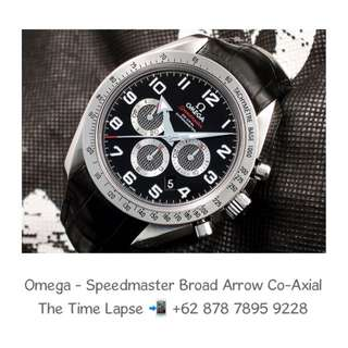 Omega - Speedmaster Broad Arrow Co-Axial Chronograph