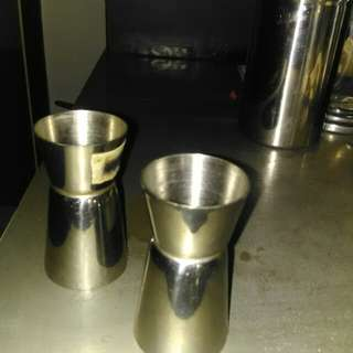 Jigger fine stainless20 ml n 40 ml
