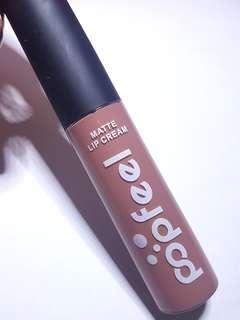 POPFEEL 'Cashmere 09' Matte Lip Cream