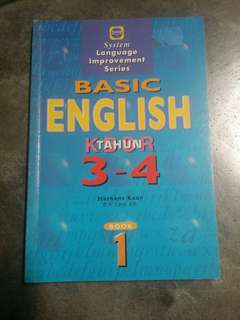 Basic english year 3-4