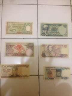 Koleksi uang lama