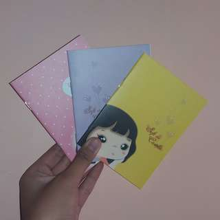 Small Cute Lined Notebooks