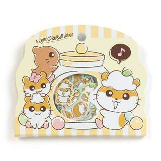 Japan Sanrio Corocorokuririn Seal Sticker Pack