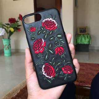Bershka flower case iphone 7+/8+