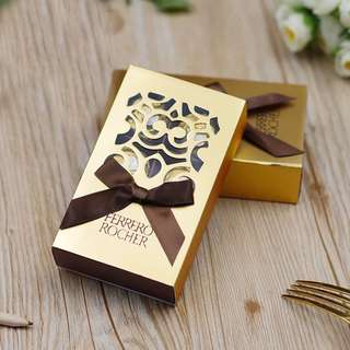 Gold Classic Ferrero Rocher 6pcs Filled Box