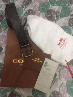 Coach Belt Original