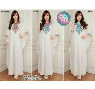 Kaftan katun alfino fit to XXL