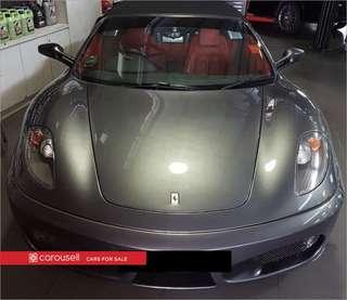 Ferrari 430 F1 Spider (COE till 11/2027)