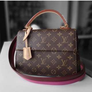 Authentic Louis Vuitton Monogram Cluny BB M42738 LV