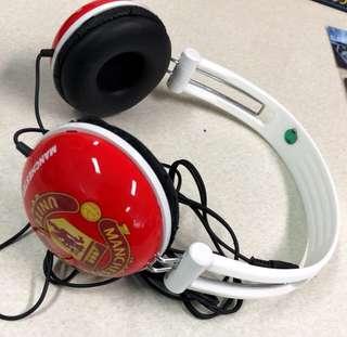 Headset / hedset MU / Manchester United