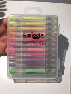 Smiggle Gel Pens - 24 set