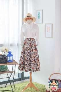 🍿 Vintage Midi Skirt VS1413