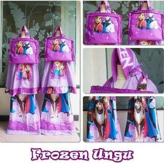 SALE.. Mukena Anak Frozen Ungu
