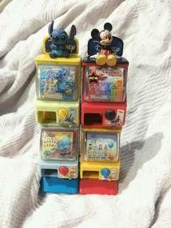 Takara Tomy Disney Miniature Gashapon Toy Capsule