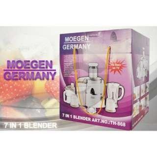 Blender Mixer 7 in 1 Juicer Jerman Alat Pembuat Jus Moegen Germany teerbagus