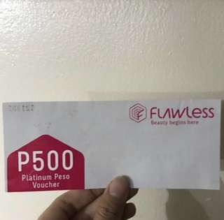 Flawless voucher