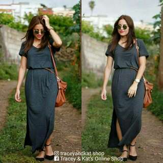Maxi Dress With Belt