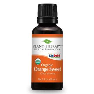 Plant Therapy Orange Sweet Organic Essential Oil