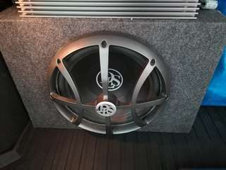 "DLS 12"" sub with enclosure"