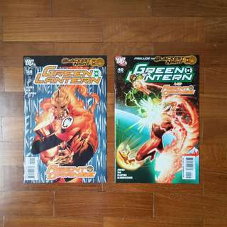Blackest Night : Green Lantern (4 Issues)