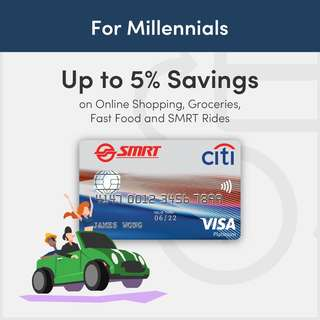 Citibank SMRT Visa Platinum Card