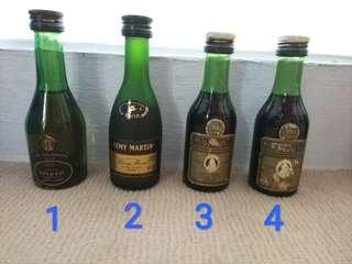 Vintage Collectibles - Miniature Liquor