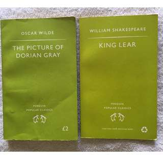 The Picture of Dorian Gray and King Lear