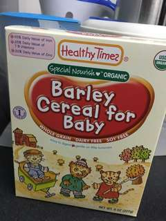 Brand New- Barley cereal Healthy Times