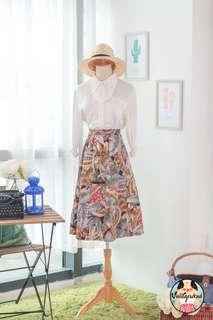 🍿 Vintage Midi Skirt VS1410