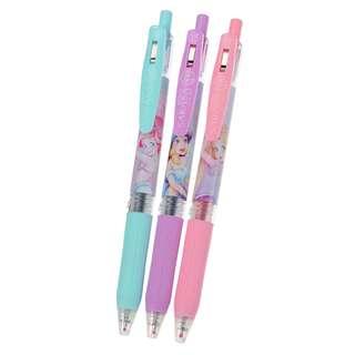 JAPAN DISNEYSTORE, JAPAN IMPORTED: Ball Pen Series : Disney Princess Party Sarasa Clip 0.5 Gel Ball Pen